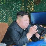 Soudruh KIM ČONG UN vedl cvičnou střelbu obranných jednotek na první linii a na východní frontě