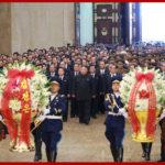 Vážený najvyšší vodca súdruh KIM ČONG UN navštívil Palác slnka Kumsusan