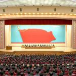 Ústřední smuteční zasedání k 70. výročí úmrtí soudružky KimČongSuk