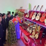 Zahájena 10. pchjongjangská výstava hudebních nástrojů
