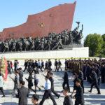 Oslavy 22. výročí zvolení soudruha KIMČONGILA generálním tajemníkem KSP