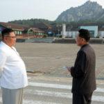 Soudruh KIM ČONG UN zkontroloval turistickou oblast Kumgangsan