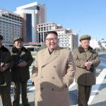 Soudruh KIM ČONG UN vedl na místě staveniště okresu Samdžijon