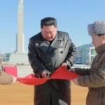 Soudruh KIM ČONG UN zahájil provoz zemědělského družstva a lesní školky Čungpchjong