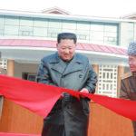 Soudruh KIM ČONG UN otevřel lázeňskou zónu Jangdok