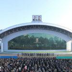Dokončena rekonstrukce Letního divadla Parku mládeže města Pchjongjangu
