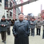 Soudruh KIM ČONG UN vedl staveniště Sunčchonského závodu fosforečných hnojiv