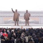 Korejský lid oslavil Den zářící hvězdy