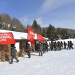 Poslanci a funkcionáři Nejvyššího lidového shromáždění zahájili pochod na Pektusan