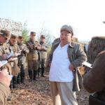 Súdruh KIM ČONG UN viedol cvičenie mínometčíkov