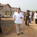 Súdruh KIM ČONG UN poskytol poľné pokyny hydinárni Kwangčchon vo výstavbe