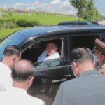 Soudruh KIM ČONG UN zkontroloval povodňové škody v provincii Severní Hwanghe