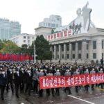 Masová shromáždění za vítězství v80denní kampani
