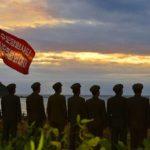Hrdinské činy divizí členů strany zhlavního města budou navždy zářit vdějinách naší strany